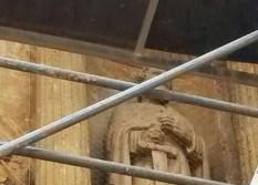 malla proteccion en La Catedral contra aves